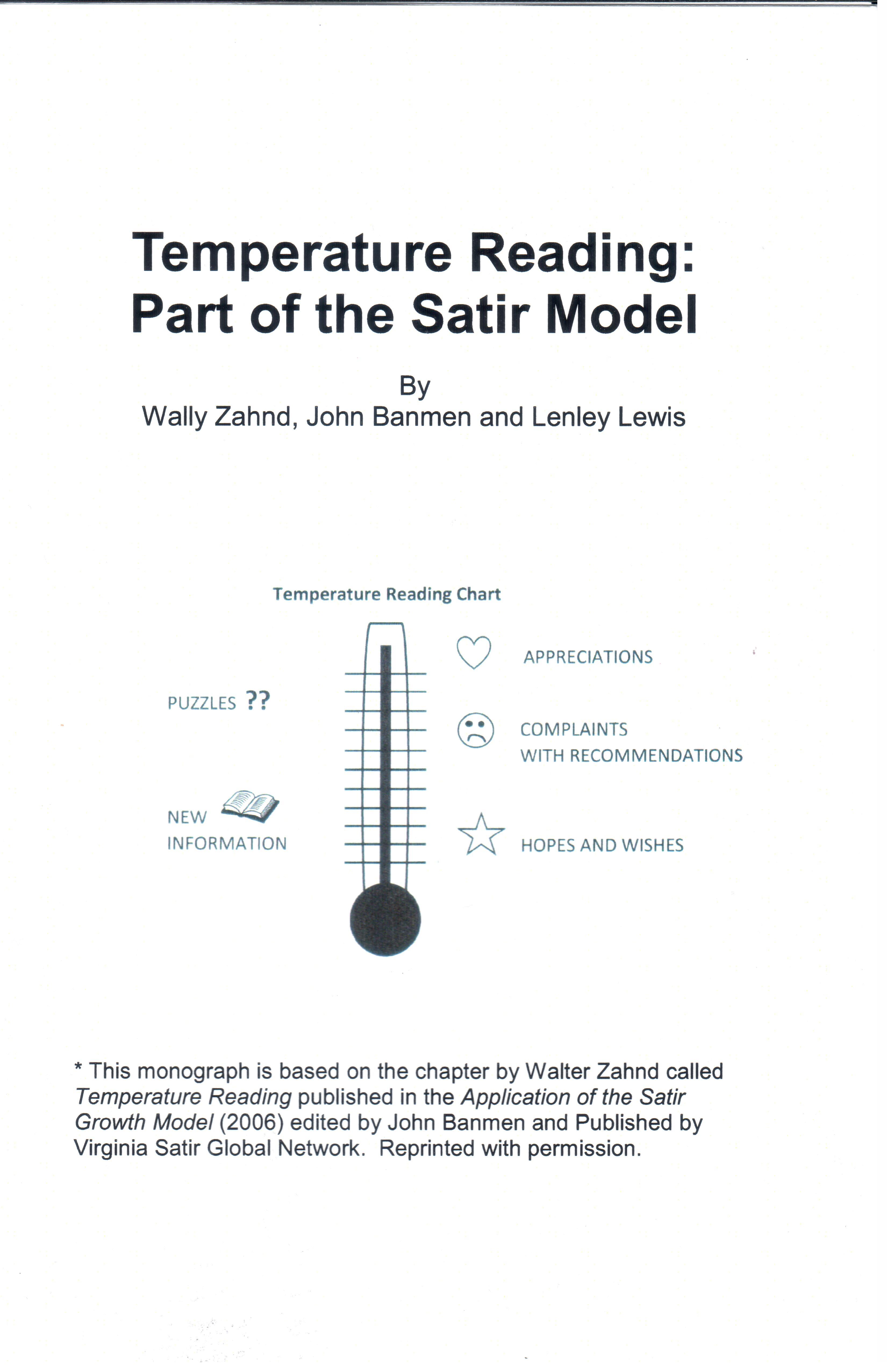 Temperature Reading Part of the Satir Model