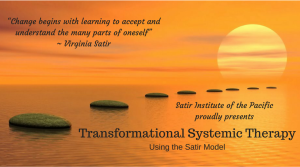 Transformational Systemic Therapy Level 1 Using the Satir Model