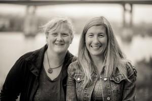 Danielle BK, Carolyn Goossen 2017 small